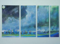 """Untitled"" Acrylic on canvas."