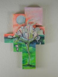 """Bloom"" Oil on canvas board."
